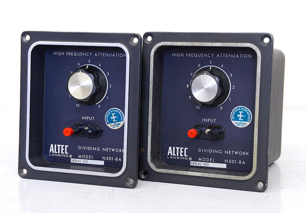 ALTEC N501-8A スピーカーネットワーク1枚目