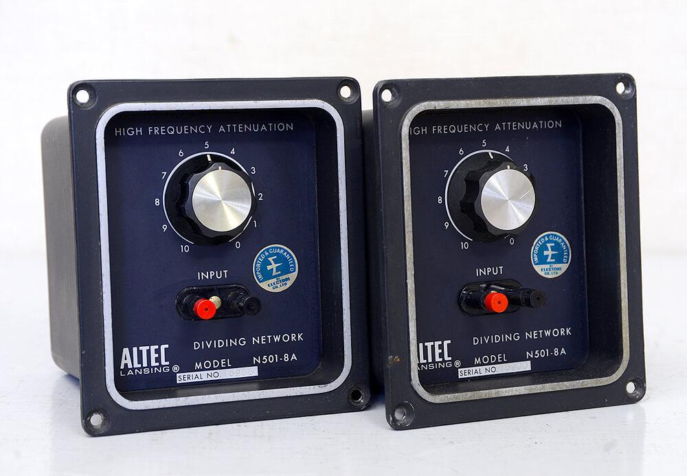 ALTEC N501-8A スピーカーネットワーク2枚目