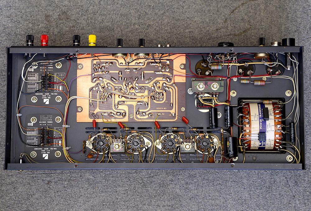 LUXKIT A3500 真空管パワーアンプ5枚目