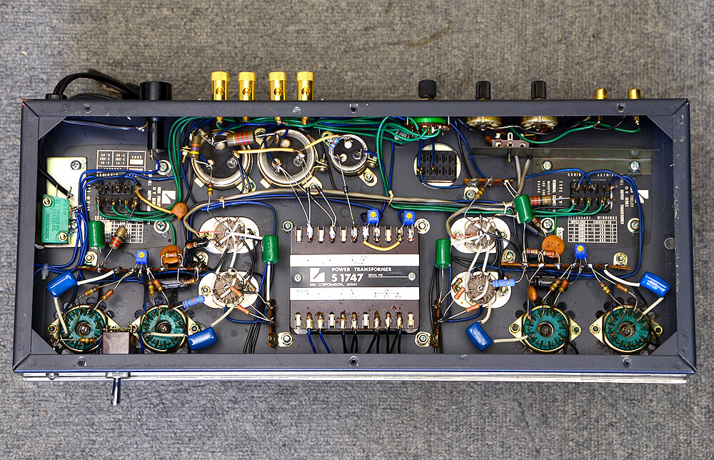 LUXMAN MQ60 真空管パワーアンプ4枚目