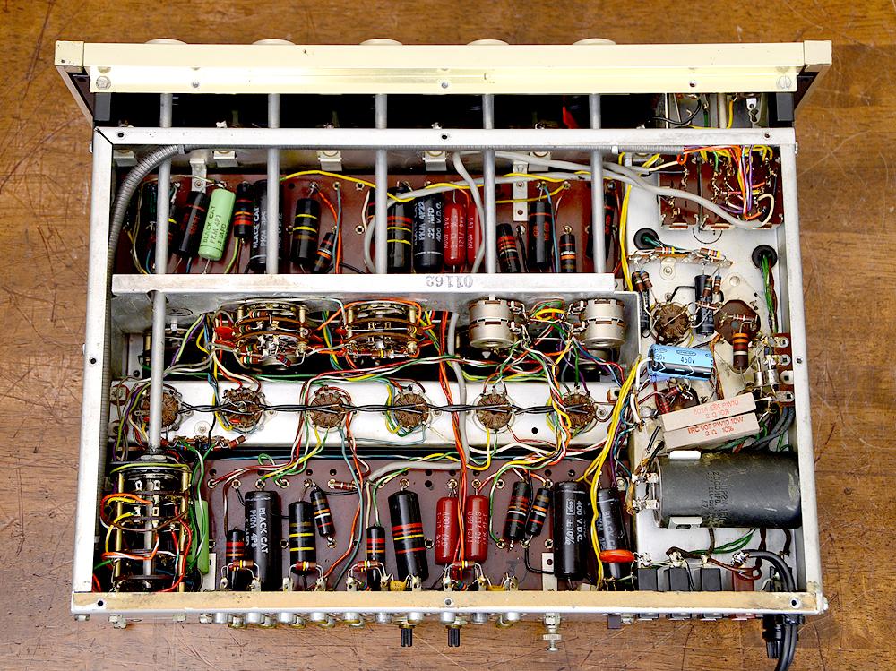 McIntosh C20 真空管プリアンプ5枚目