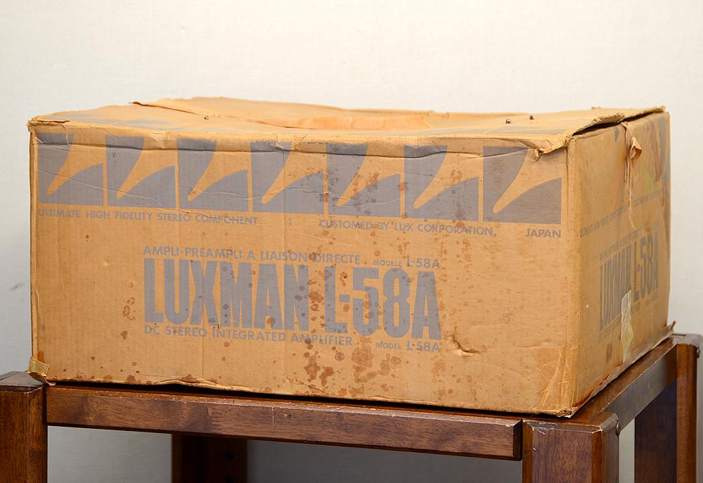 LUXMAN L-58A プリメインアンプ5枚目