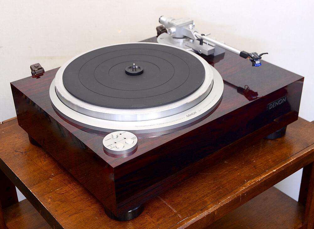 DENON DP-59M レコードプレーヤー1枚目