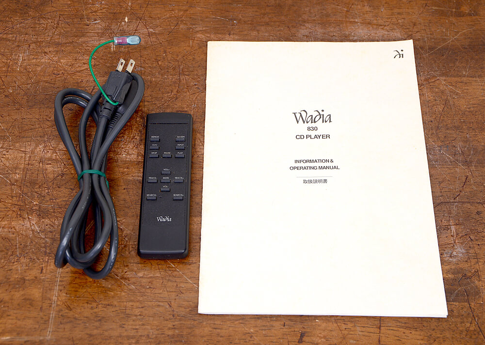 Wadia 830 CDプレーヤー5枚目