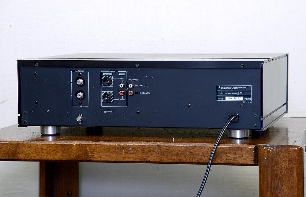 KENWOOD L-02T FMステレオチューナー2枚目