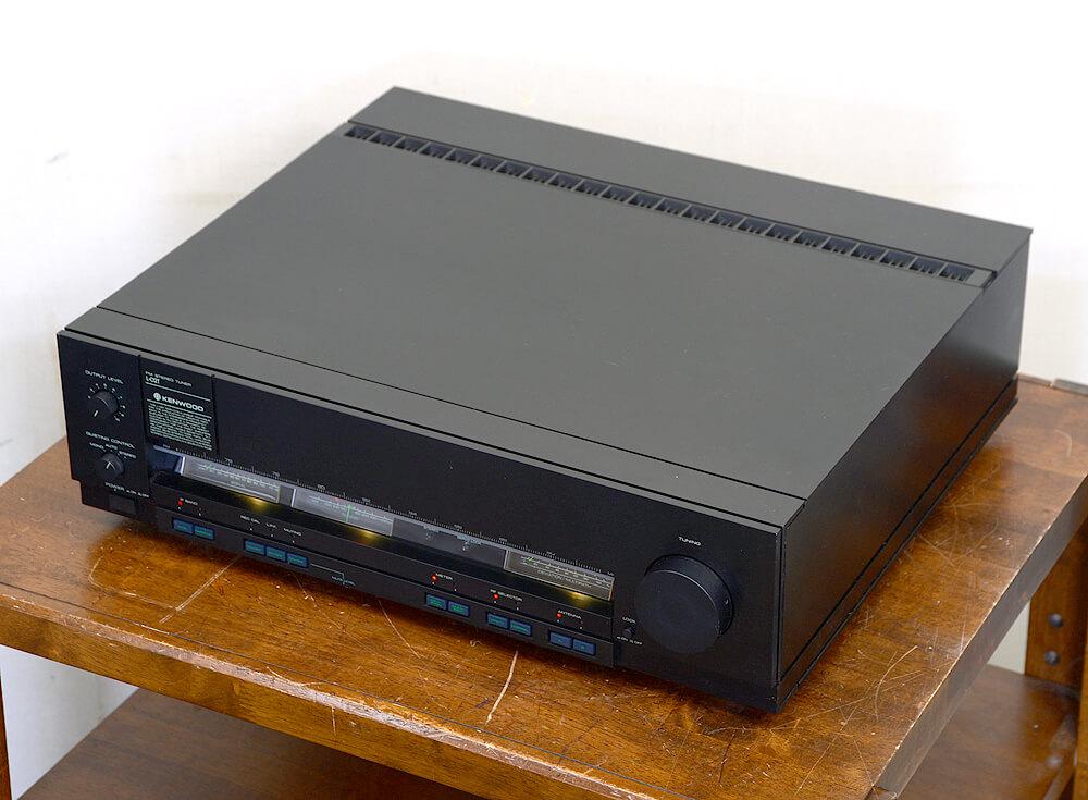 KENWOOD L-02T FMステレオチューナー3枚目