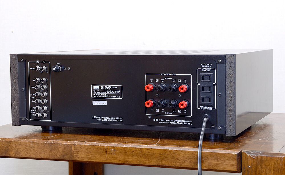 SANSUI AU-D607X DECADE プリメインアンプ3枚目