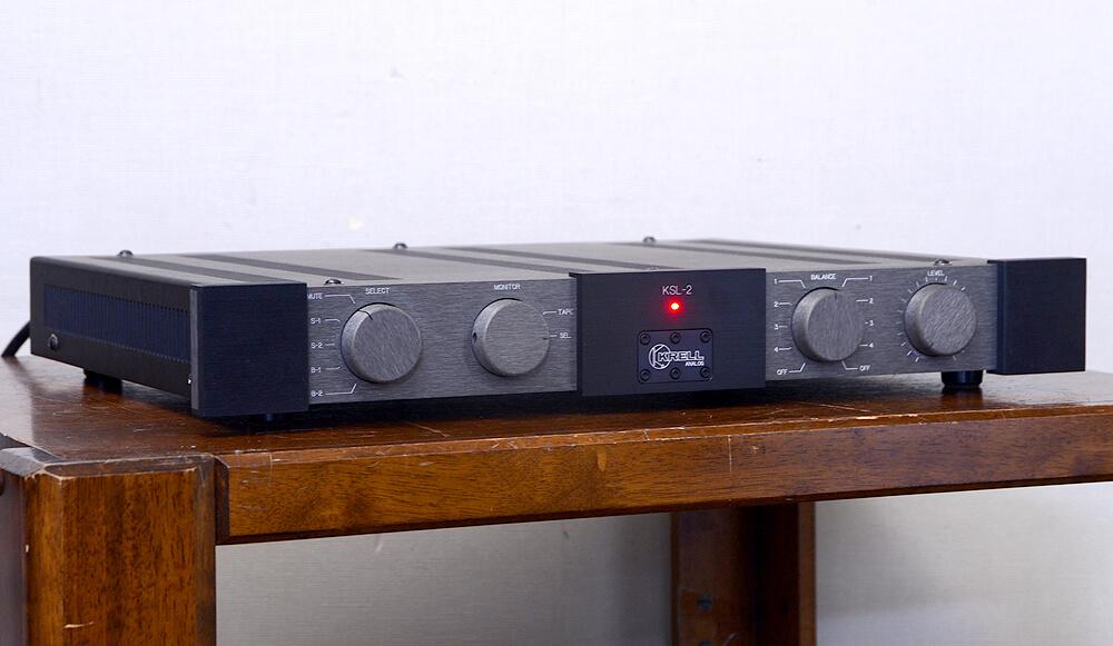 KRELL KSL-2 ラインコントロールアンプ1枚目
