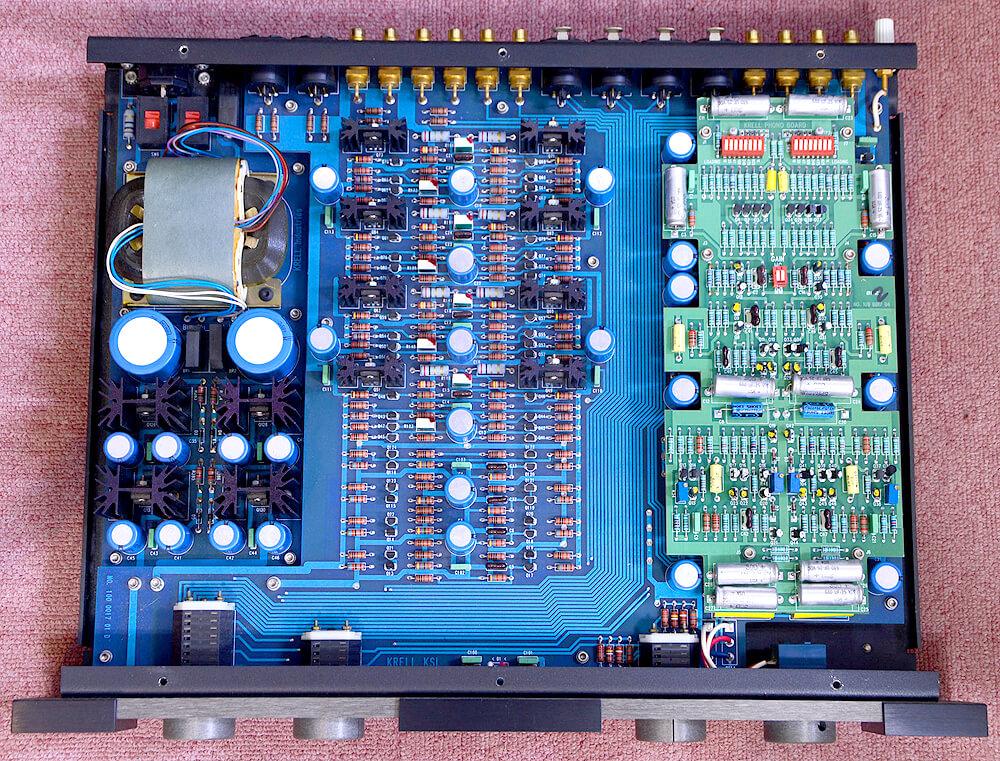 KRELL KSL-2 ラインコントロールアンプ4枚目