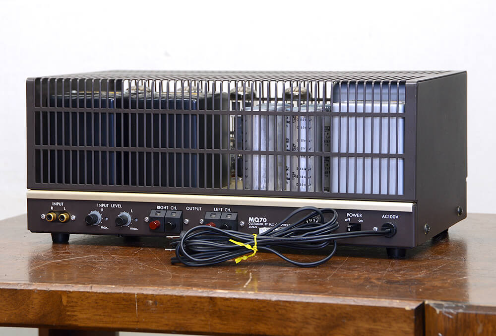 LUXMAN MQ70 真空管パワーアンプ3枚目