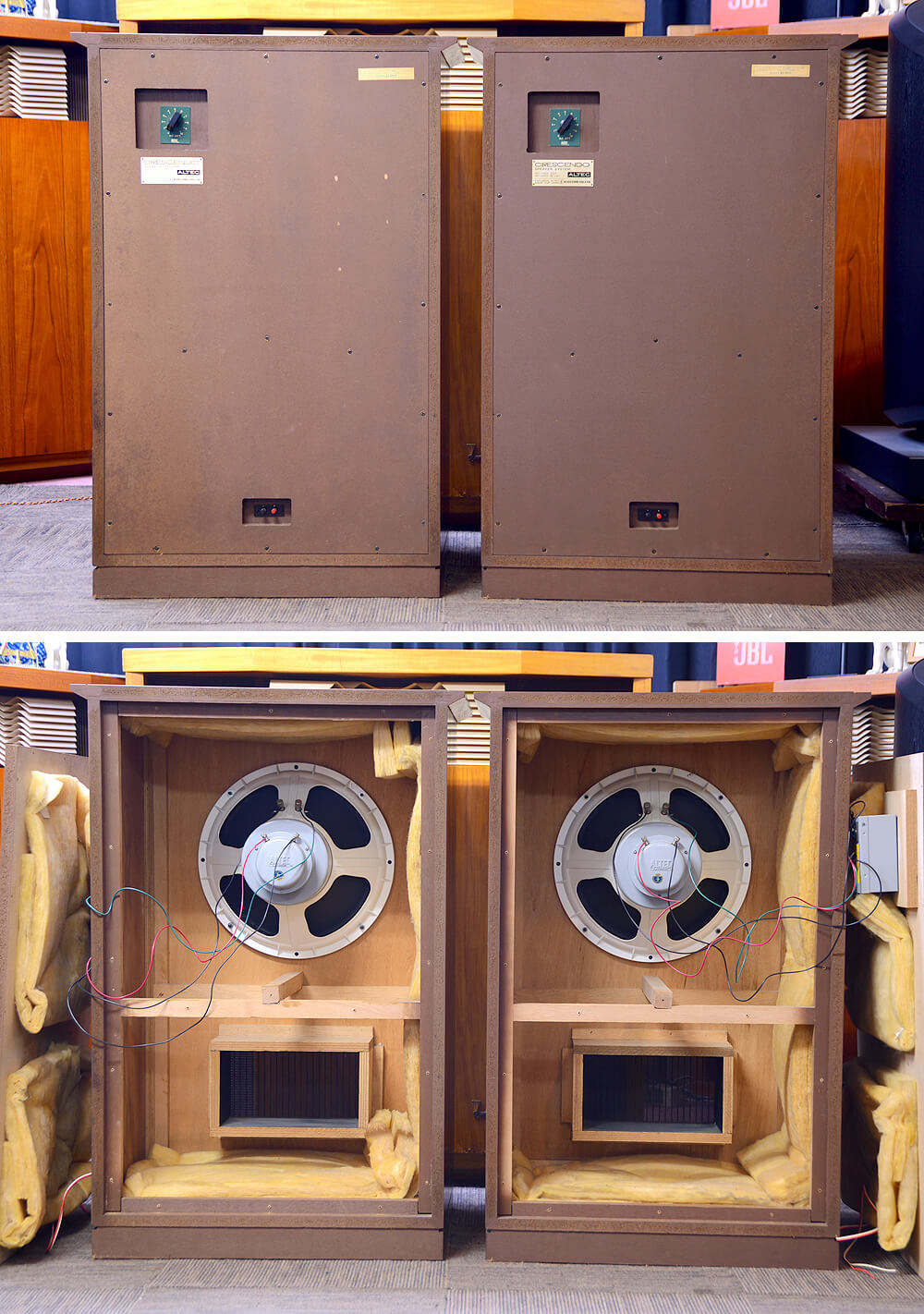 ALTEC Crescendo 38cm同軸型スピーカー4枚目