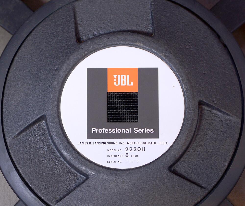 JBL 2220H 38cmコーン型ウーファー5枚目