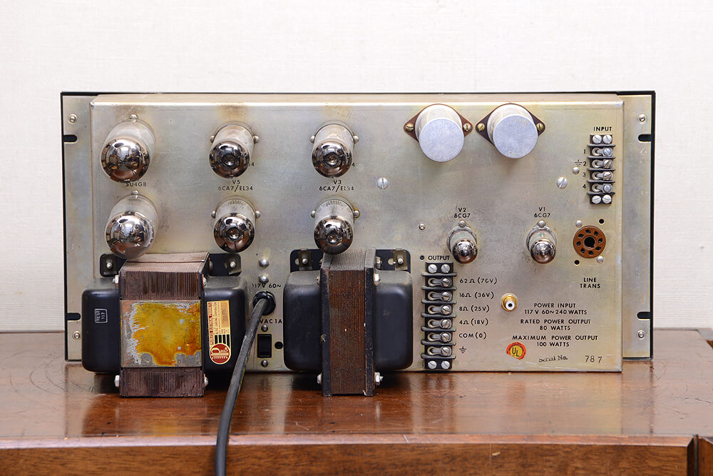 ALTEC 1569A 真空管モノラルパワーアンプ4枚目