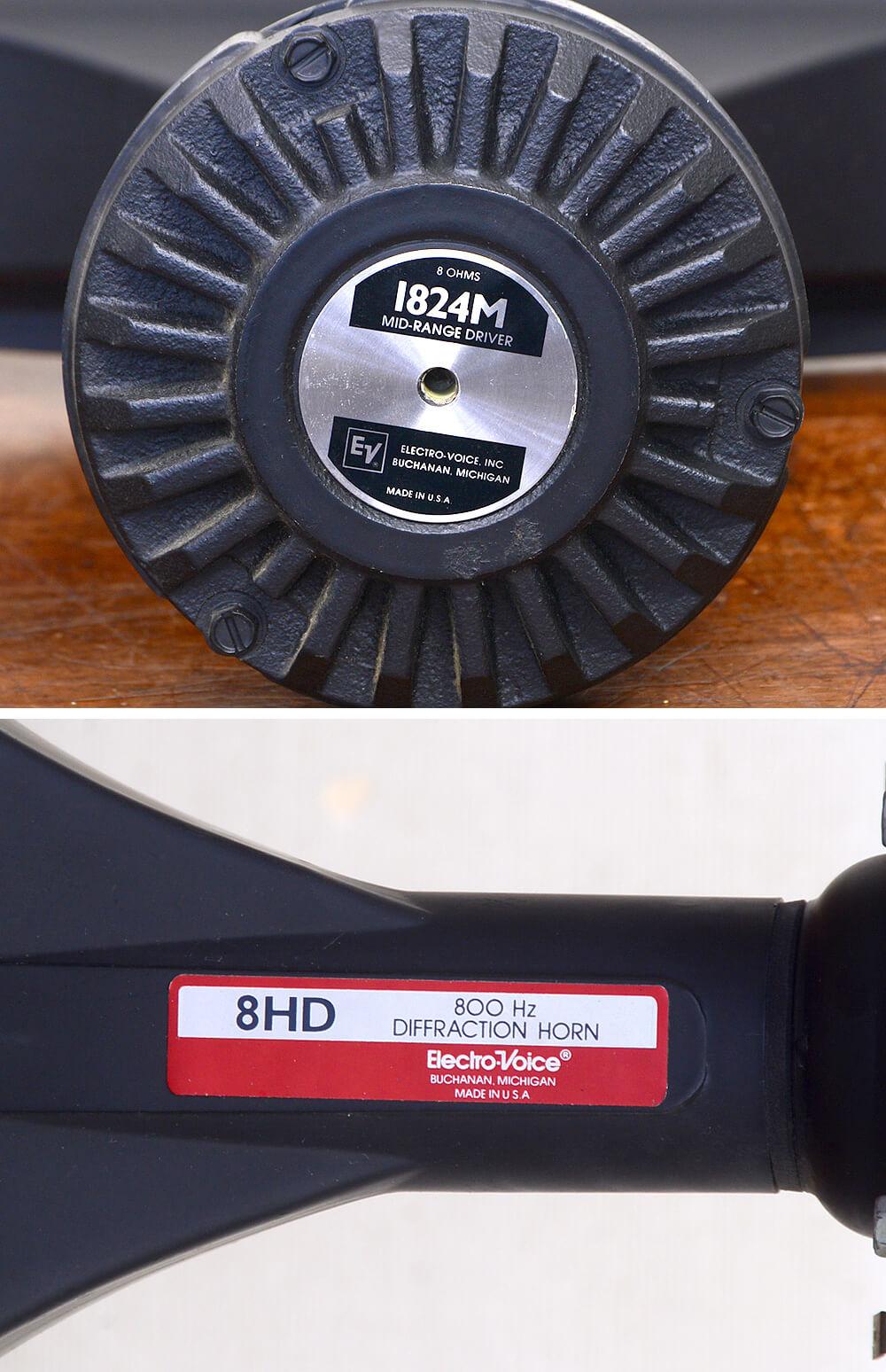 Electro-Voice 1824M+8HD ホーンドライバー4枚目
