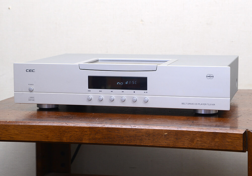 CEC TL51XR CDプレーヤー1枚目