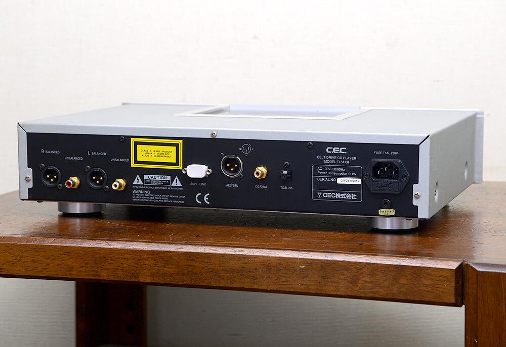 CEC TL51XR CDプレーヤー3枚目