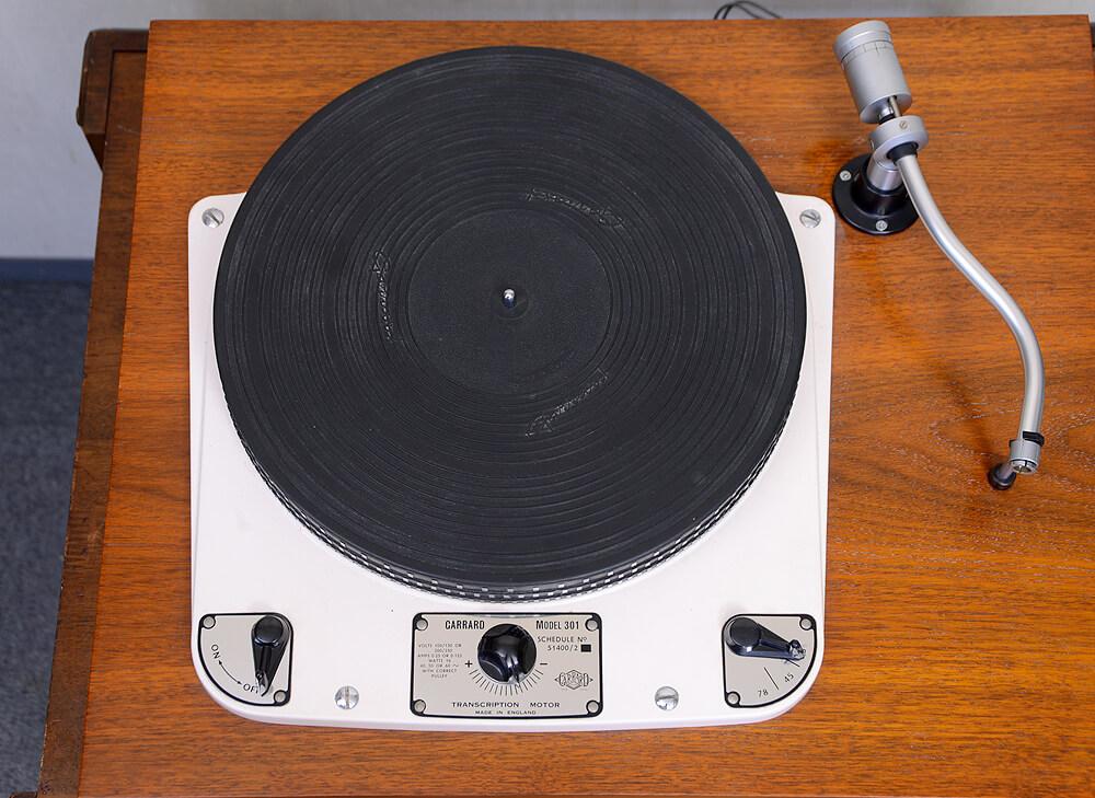Garrard 301 / Ortofon RMG-212 レコードプレーヤー4枚目