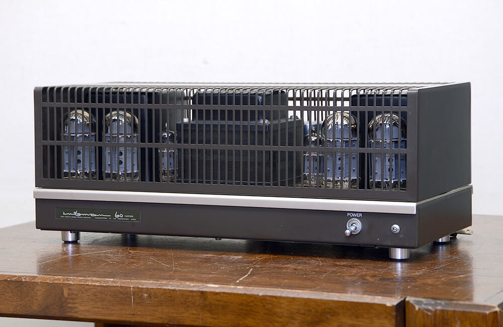 LUXMAN MQ60 Custom 真空管パワーアンプ1枚目