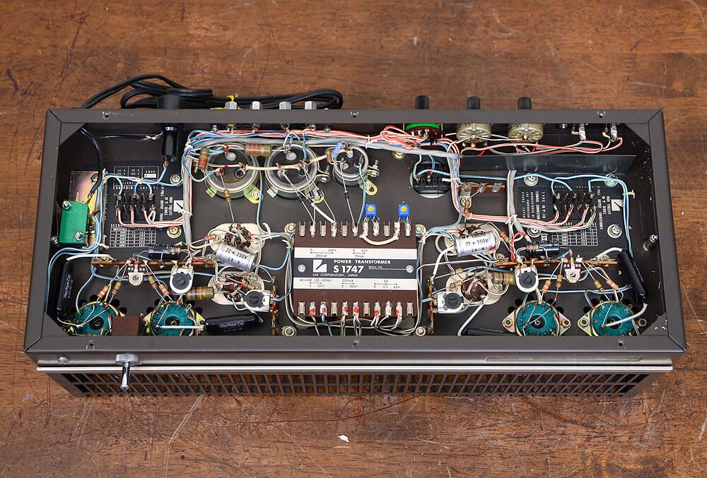 LUXMAN MQ60 Custom 真空管パワーアンプ6枚目