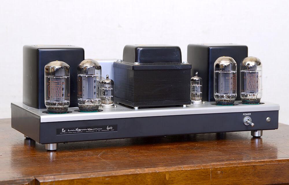 LUXMAN MQ60 真空管パワーアンプ1枚目