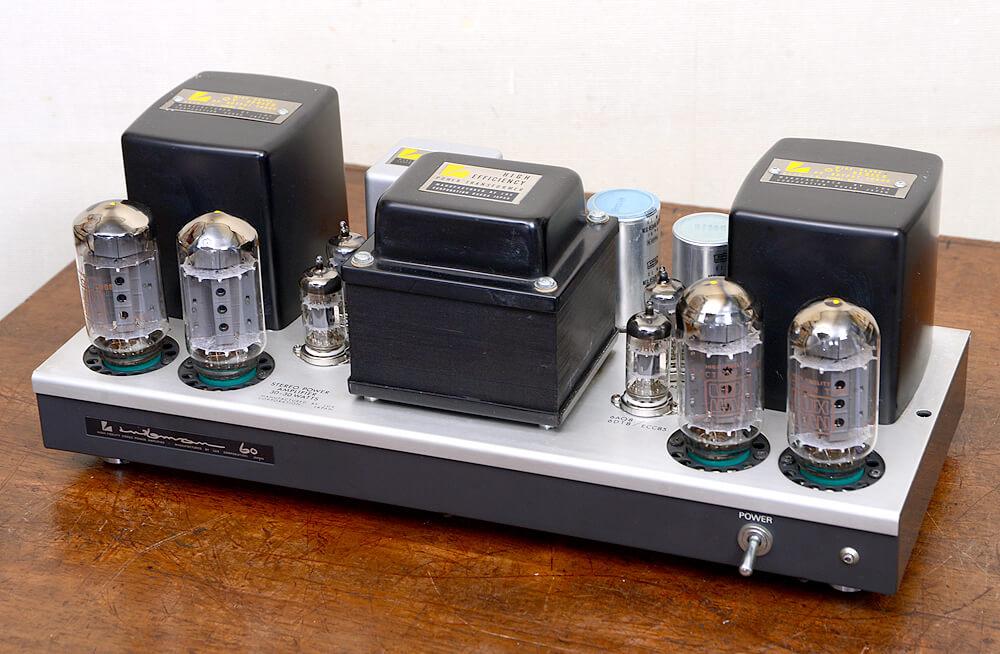 LUXMAN MQ60 真空管パワーアンプ3枚目