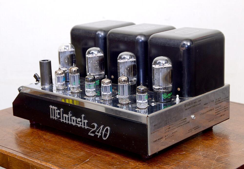 McIntosh MC240 真空管パワーアンプ1枚目