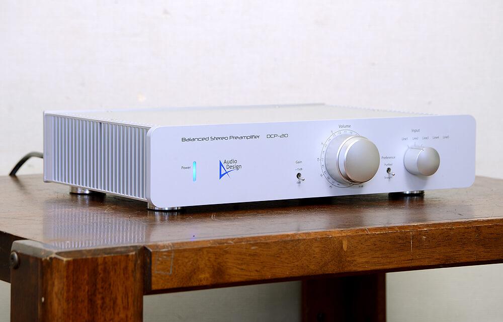 Audio Design DCP-210 バランスプリアンプ2枚目