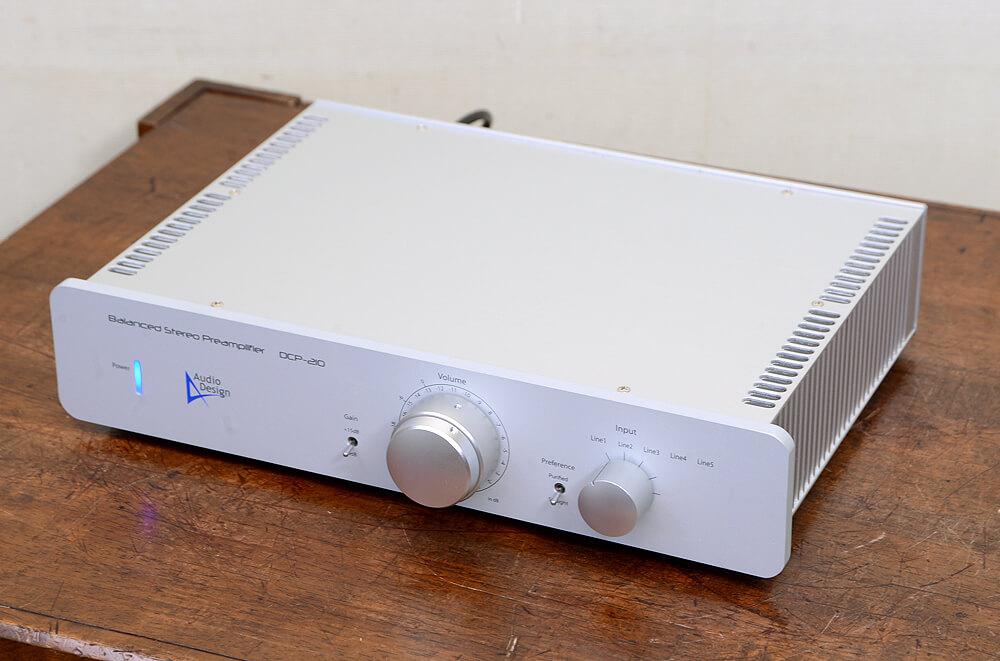 Audio Design DCP-210 バランスプリアンプ4枚目