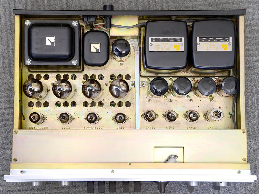 LUXMAN SQ38FD MKⅡ 真空管プリメインアンプ4枚目