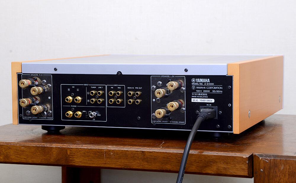 YAMAHA A-S1000 プリメインアンプ2枚目