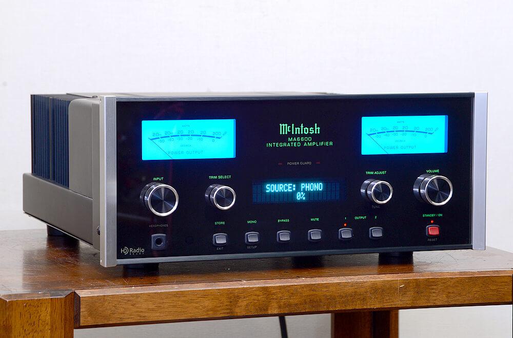 McIntosh MA6600 プリメインアンプ1枚目