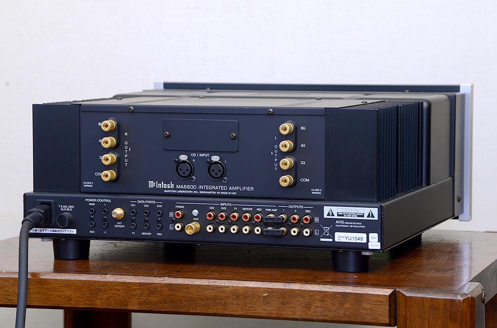 McIntosh MA6600 プリメインアンプ2枚目