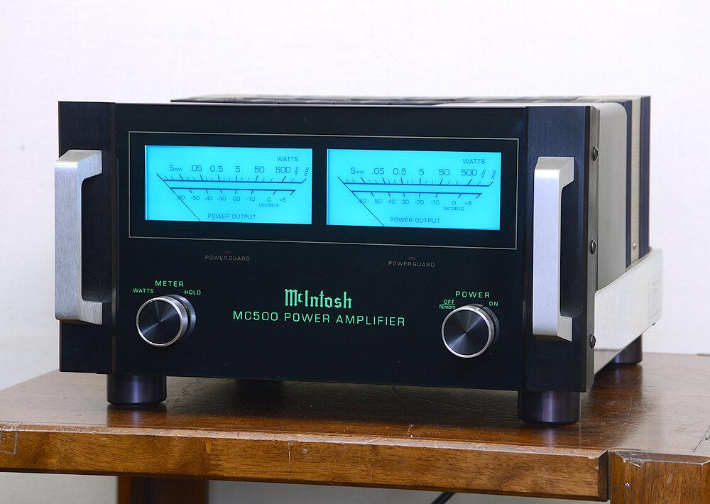McIntosh MC500 パワーアンプ1枚目