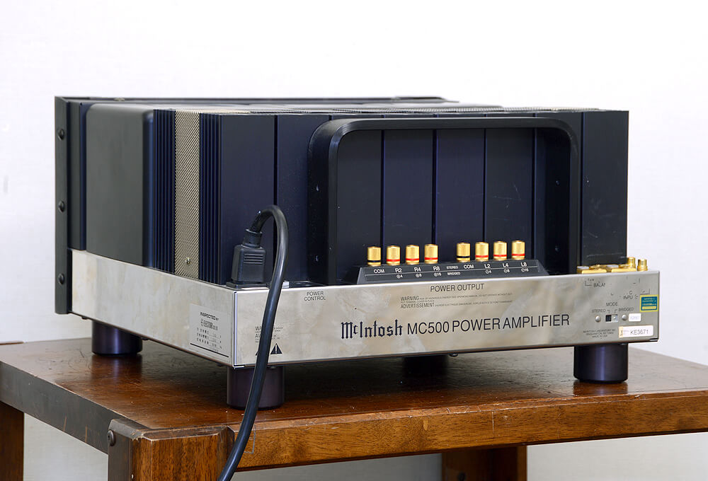McIntosh MC500 パワーアンプ3枚目