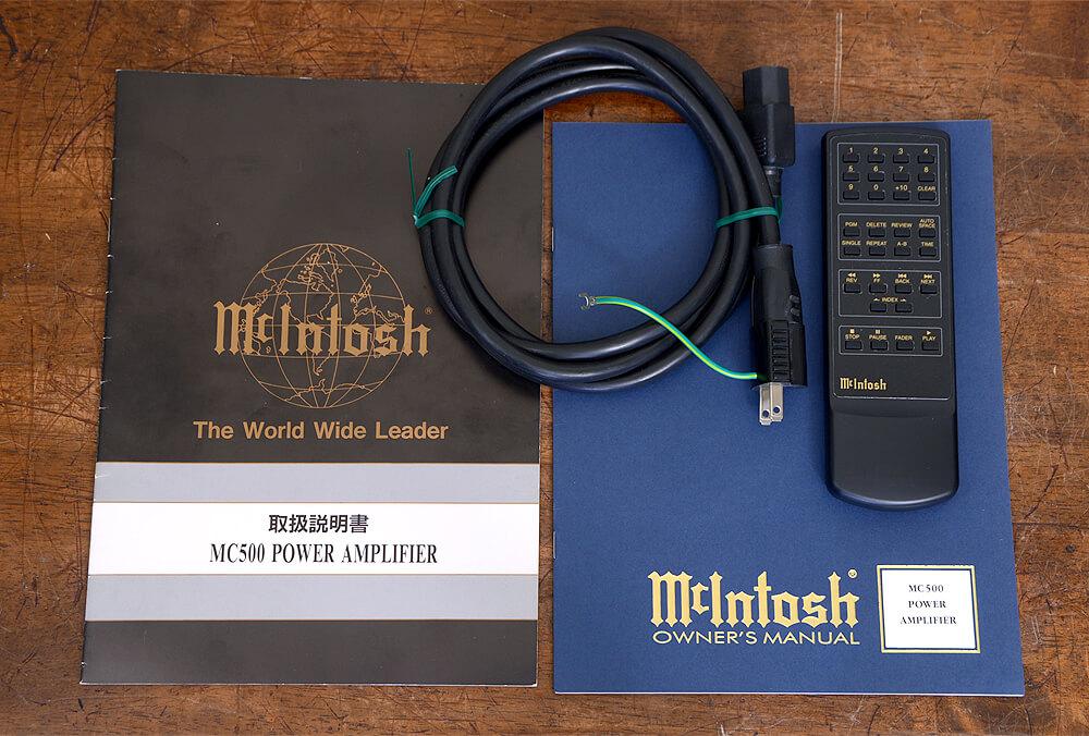 McIntosh MC500 パワーアンプ6枚目