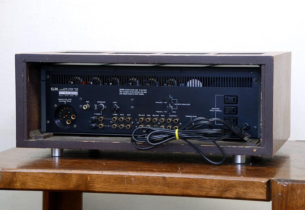LUXMAN CL36 真空管プリアンプ2枚目