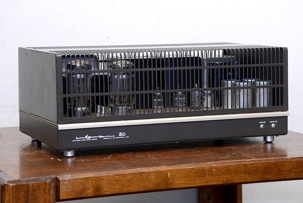 LUXMAN MQ80 真空管ステレオパワーアンプ1枚目