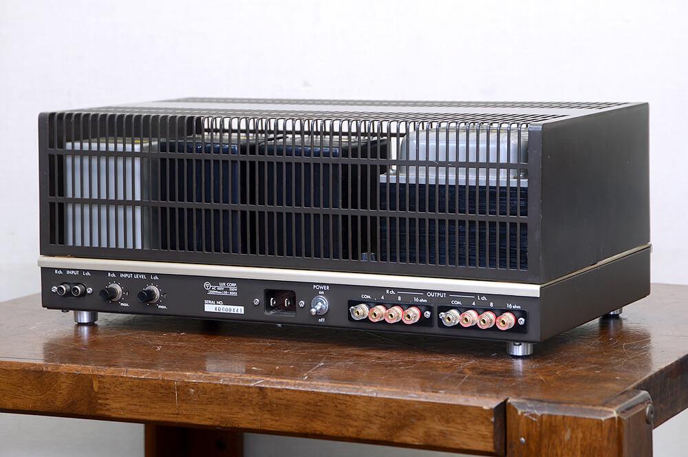 LUXMAN MQ80 真空管ステレオパワーアンプ2枚目