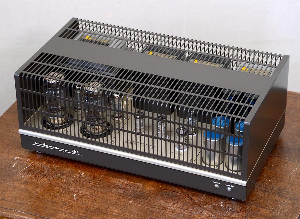LUXMAN MQ80 真空管ステレオパワーアンプ3枚目