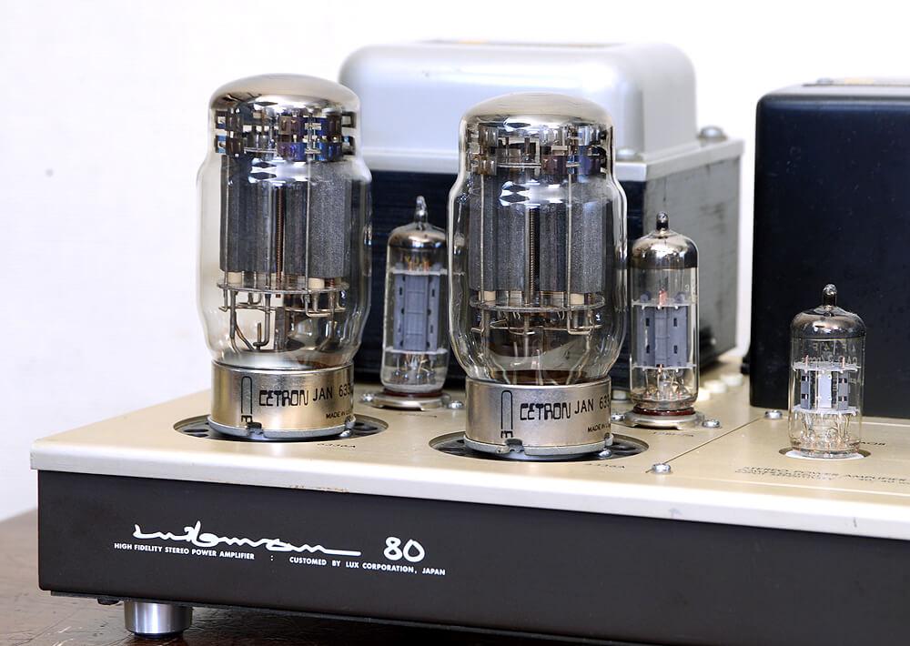 LUXMAN MQ80 真空管ステレオパワーアンプ4枚目