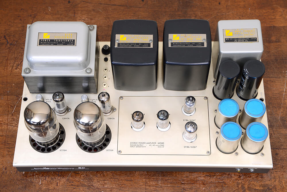 LUXMAN MQ80 真空管ステレオパワーアンプ5枚目