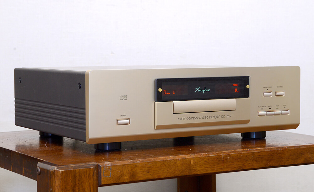 Accuphase DP-65V CDプレーヤー2枚目