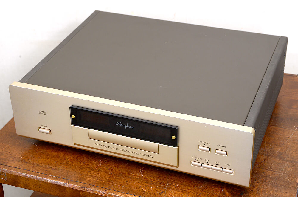 Accuphase DP-65V CDプレーヤー5枚目
