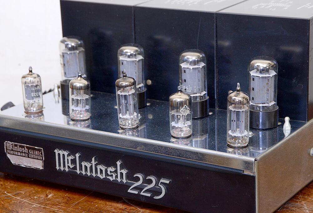 McIntosh MC225 真空管パワーアンプ5枚目