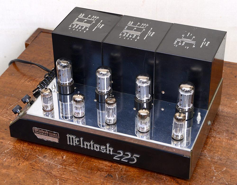 McIntosh MC225 真空管パワーアンプ6枚目