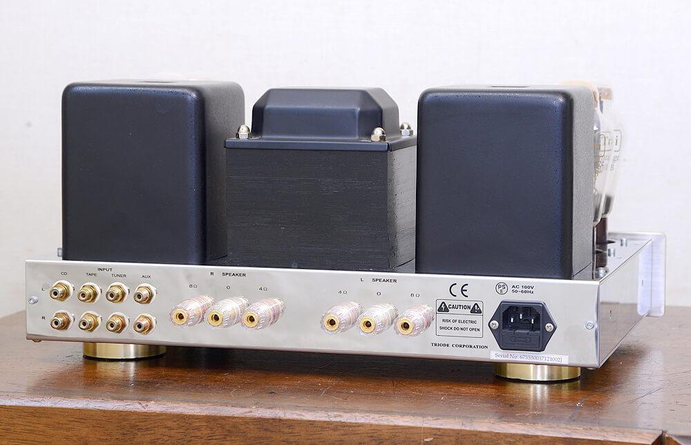 TRIODE VP-300BD 真空管プリメインアンプ3枚目