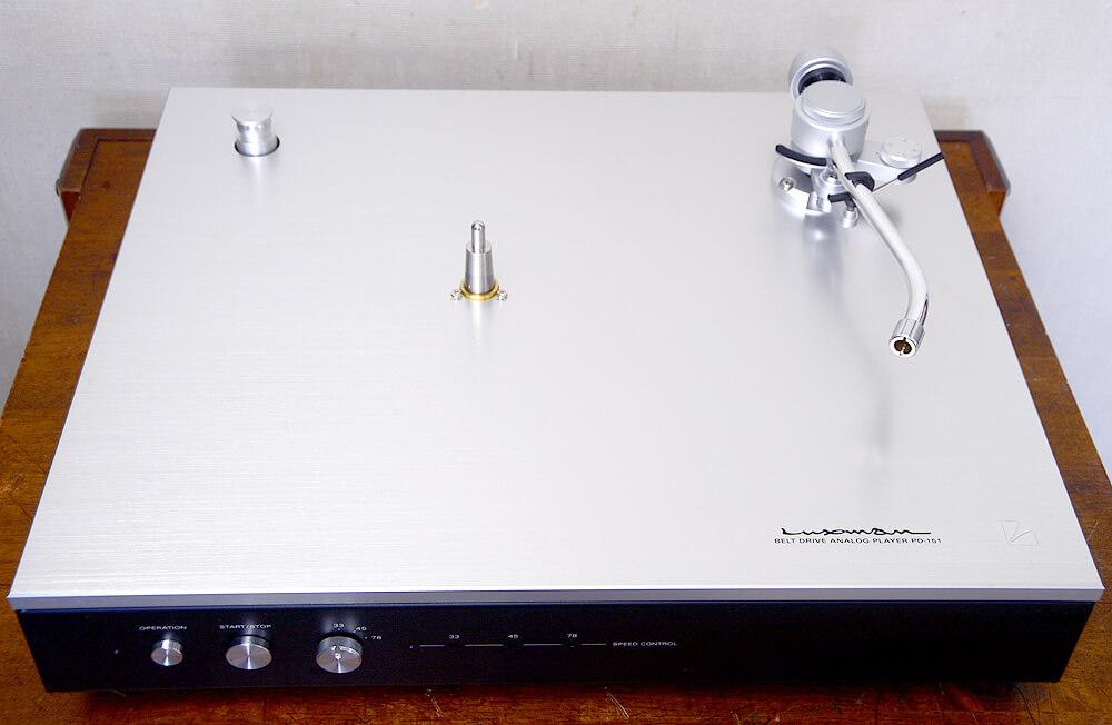 LUXMAN PD-151 アナログプレーヤー5枚目