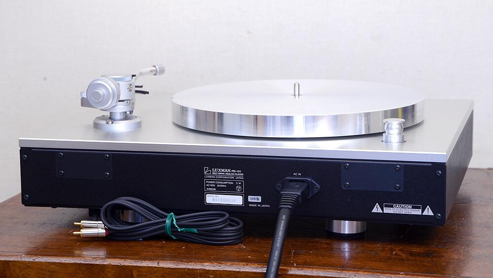 LUXMAN PD-151 アナログプレーヤー6枚目