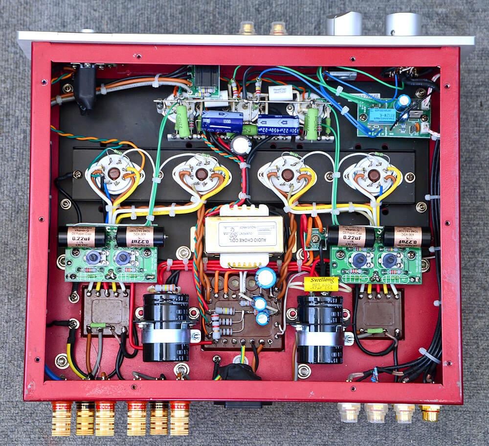 TRIODE TRV-88SE 真空管プリメインアンプ5枚目