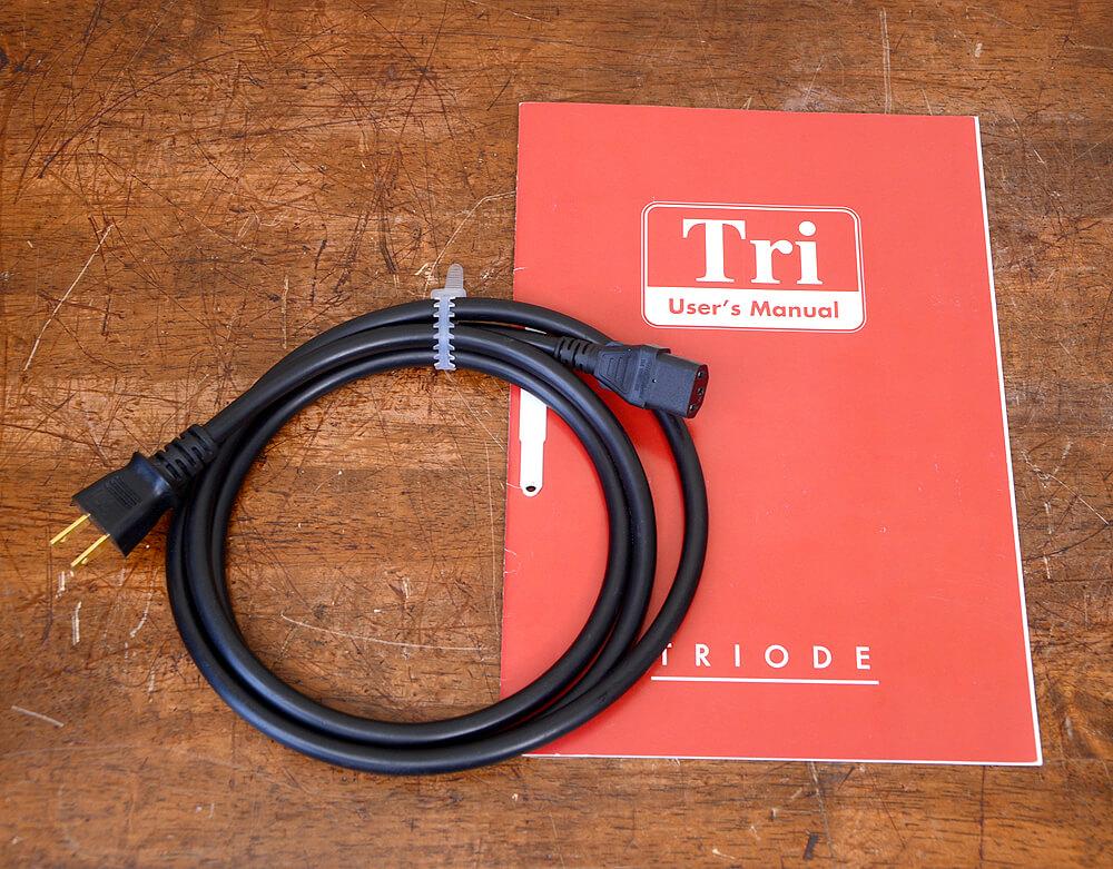 TRIODE TRV-88SE 真空管プリメインアンプ6枚目